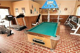 Sunnyvale Suites Game & Fitness Room