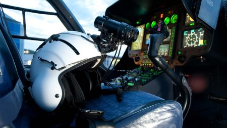 Airbus H145 helicopter modern pilot training