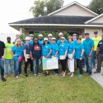 Tarek El Moussa, Real Estate Elevated Students Work with Houston Habitat for Humanity