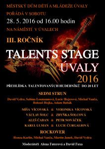 TALENT STAGE UVALY 2016