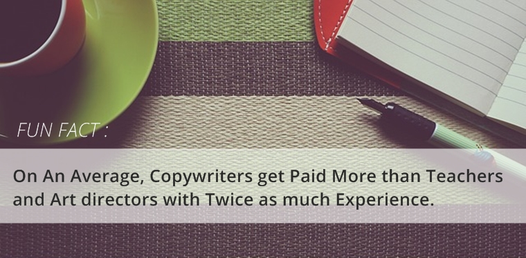 copywriters get paid more