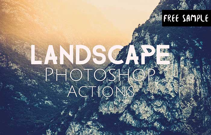 Free-Landscape-Photoshop-Action