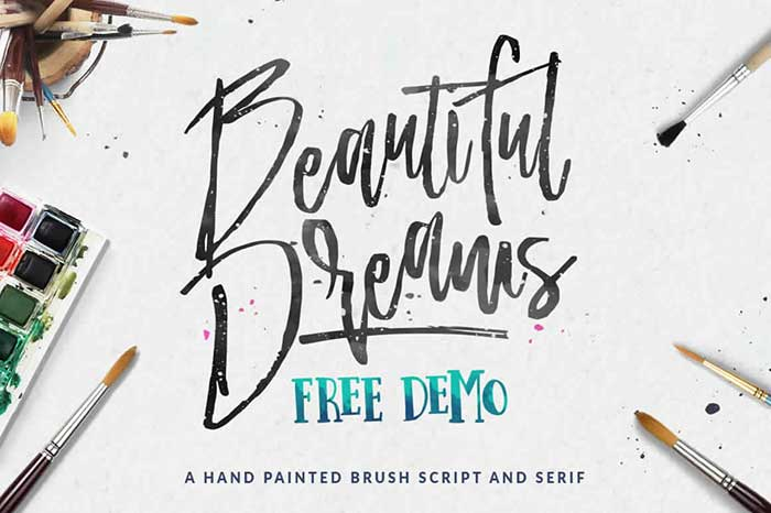 Beautiful-Dream-Free-Demo-free cursive fonts