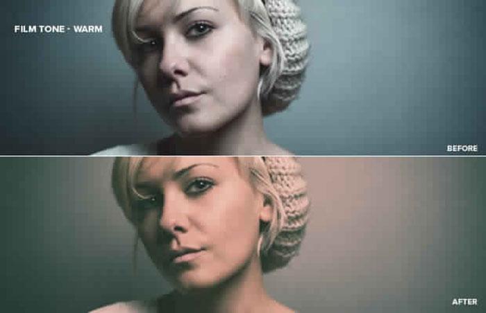 Warm-Film-Look-Vintage-Photoshop-Action