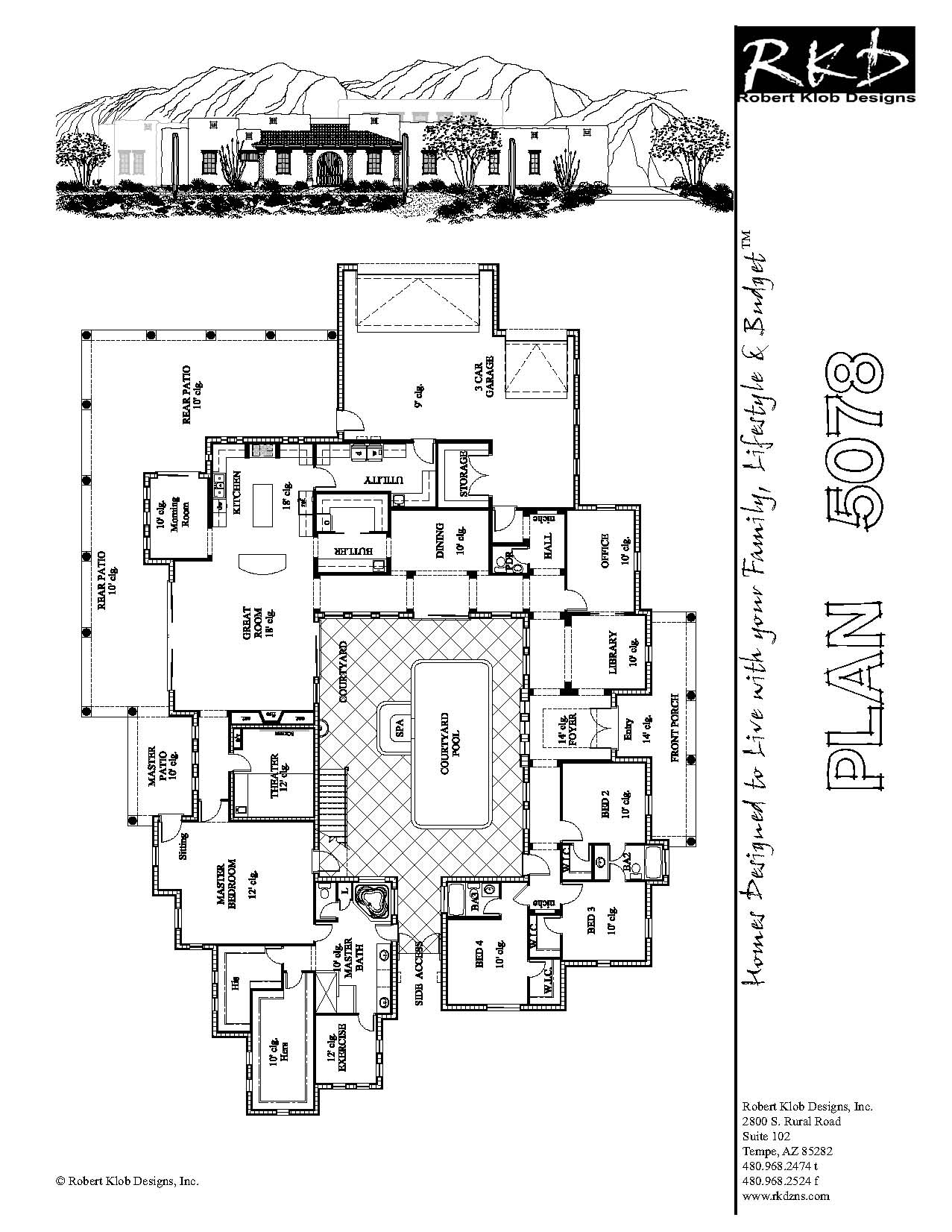 Non-Hectic ICF Home Plans Supporting Your Modern Lifestyle With No Faults: Fabulous Modern Style ICF Home Plans Architecture Floor Design ~ dickoatts.com Interior Designs Inspiration