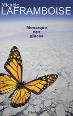 Couverture de Monarque des glaces, science fiction écologique dystopique