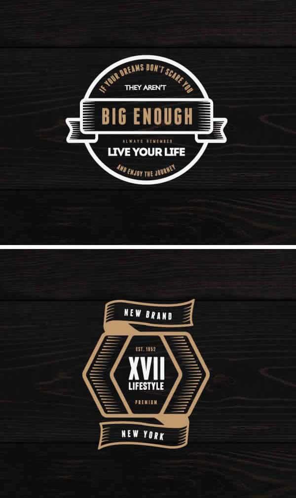 4-Vintage-Logos-&-Badges