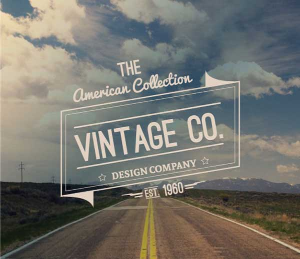 Road-badge-vintage-style-Free-Vector