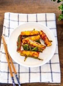 Cucumber Kimchi Recipe | MyKoreanKitchen.com