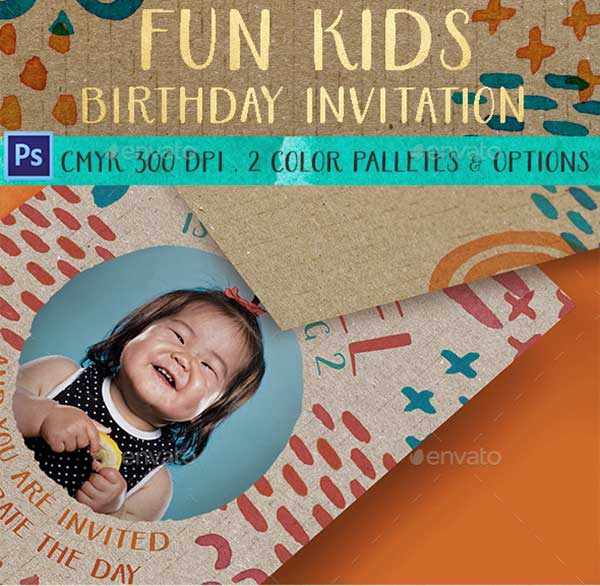 Fun-Kids-Birthday-Invitation