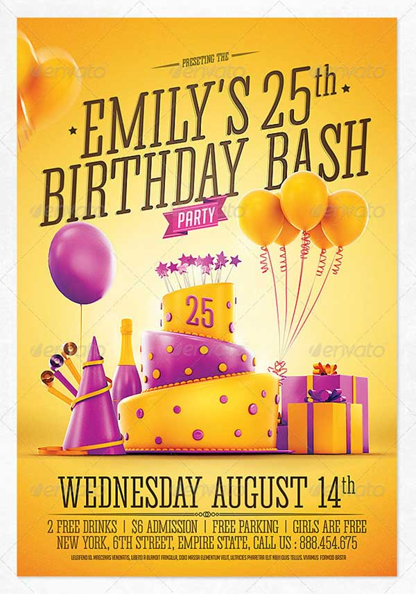 Birthday-Party-Invitation-Flyer