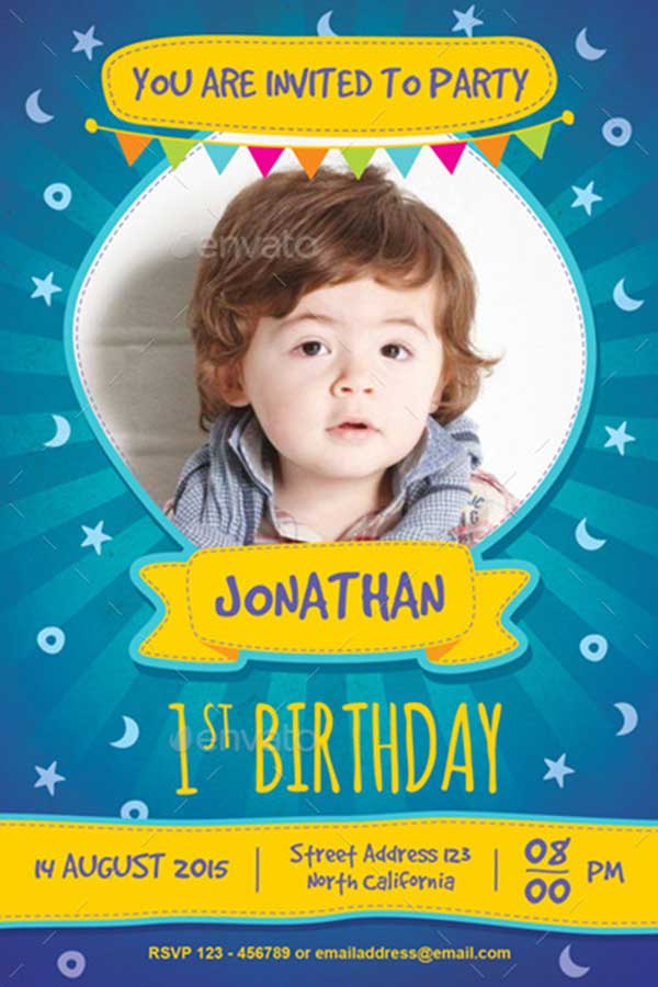 Kids-Birthday-Invitation