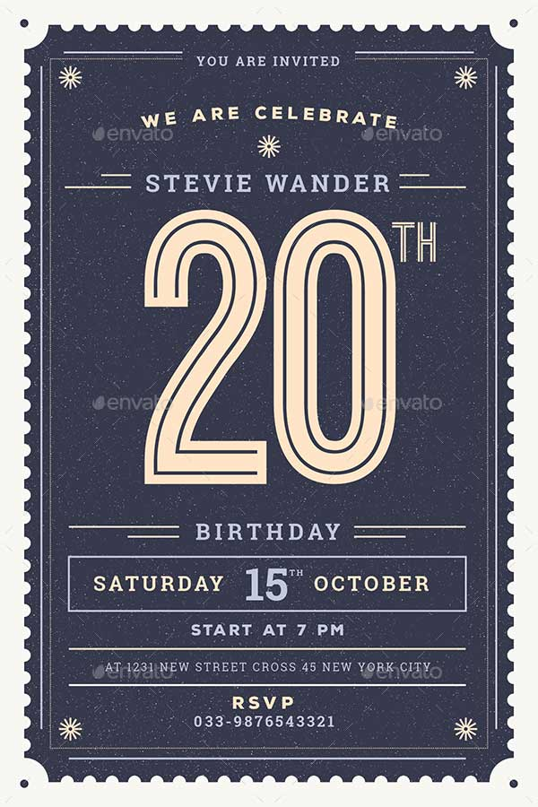 Vintage-Birthday-Party-Invitation-Card