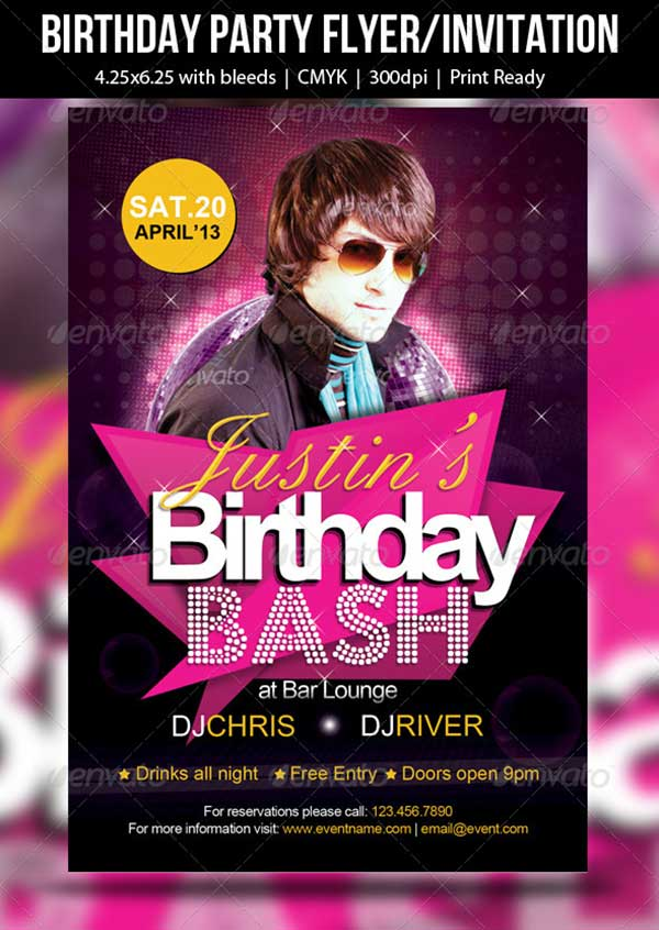 Birthday-Party-Flyer-Invitation