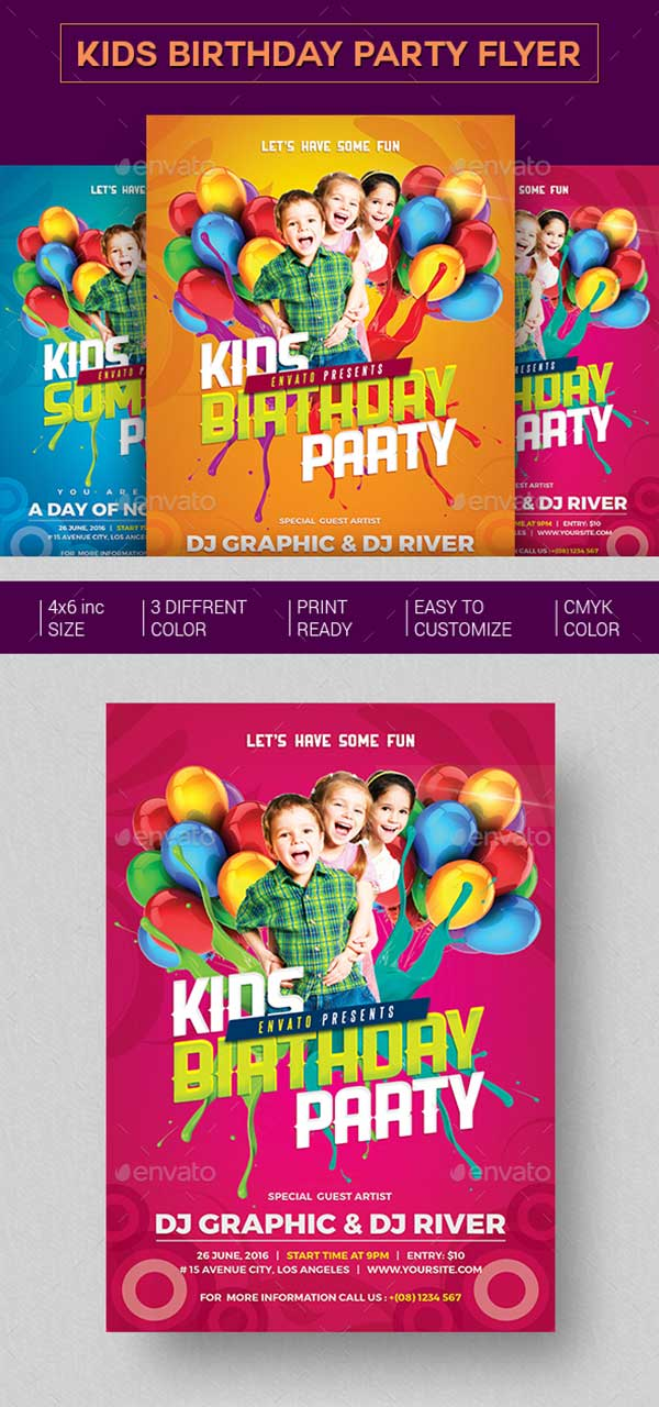 Kids-Birthday-Party-Invitation