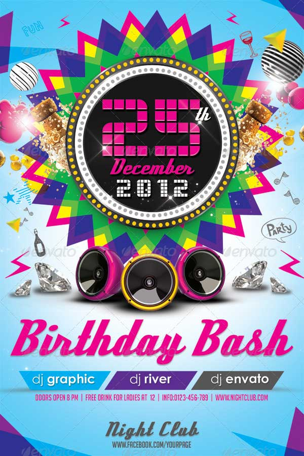 Colorful-Birthday-Invitation-Flyer-Template