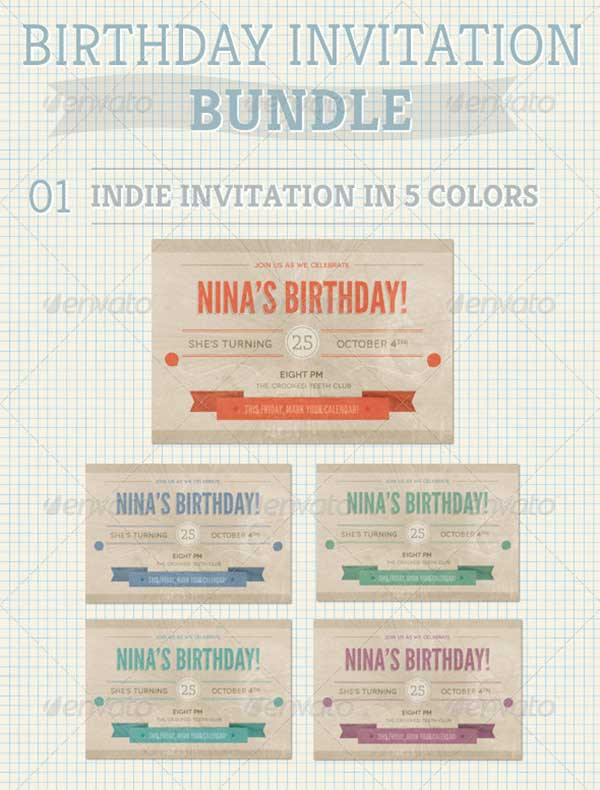 Birthday-Invitation-Bundle