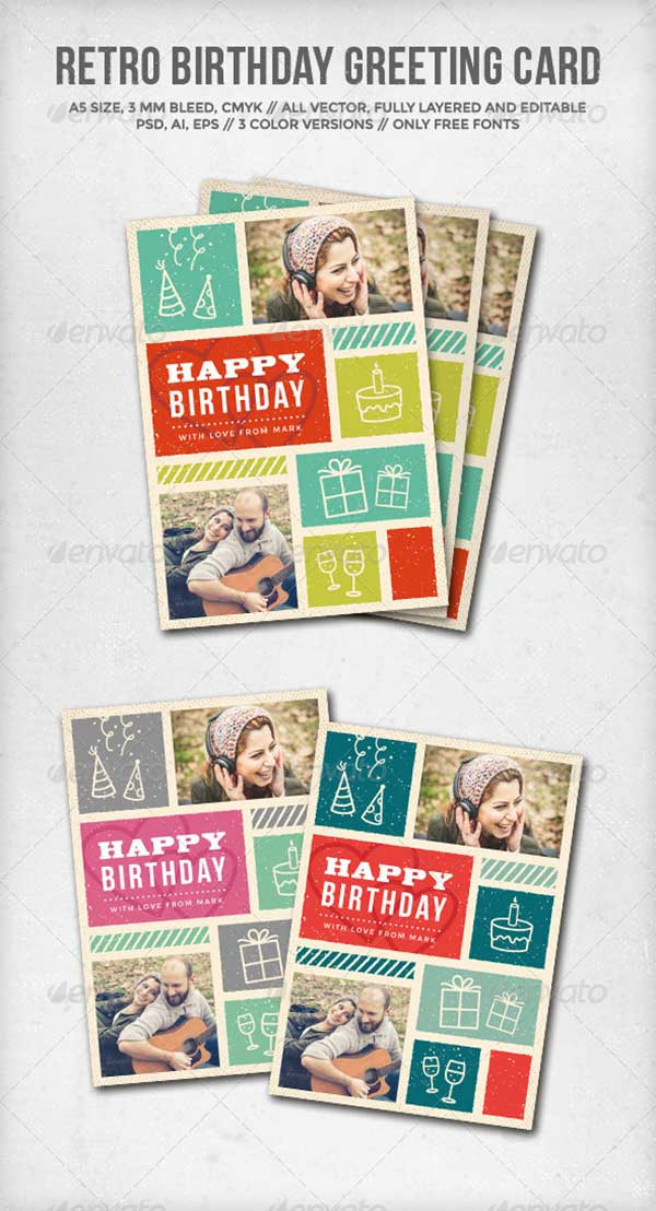 Retro-Birthday-Greeting-Card