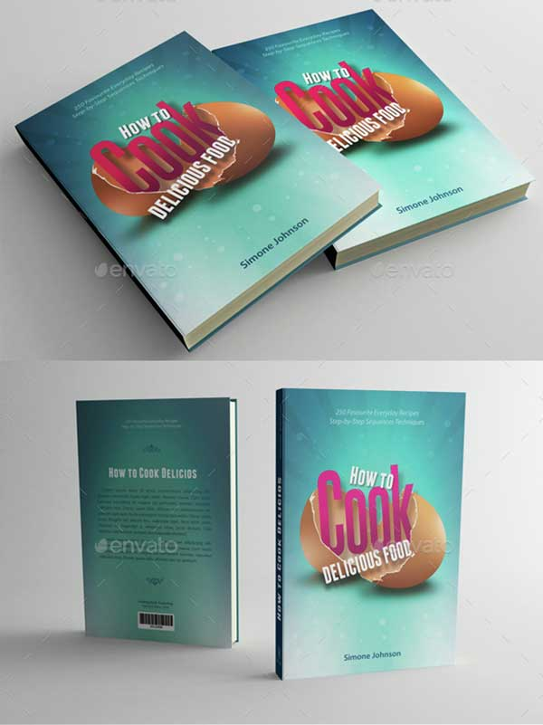 Cook-Food-Book-Cover-Template