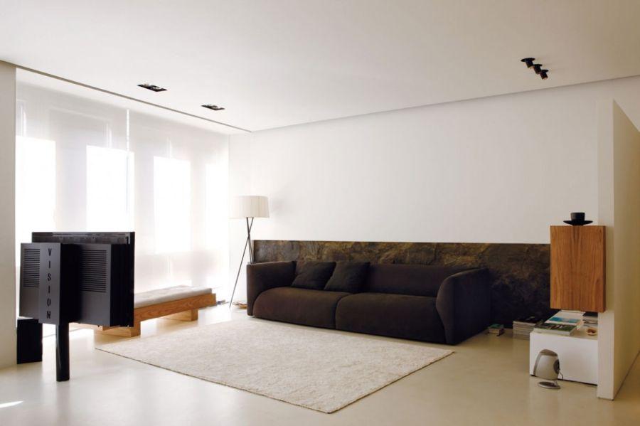 Beautiful Italian Design in Doria Interior : Chic Living Room Of Doria By Fabio Fantolino Used Minimalist Modern Design