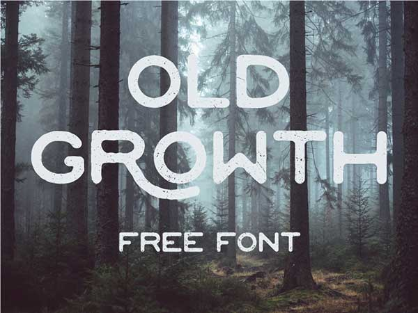 Old-Growth-Free-Font