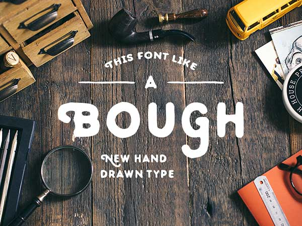 Bough-Typeface