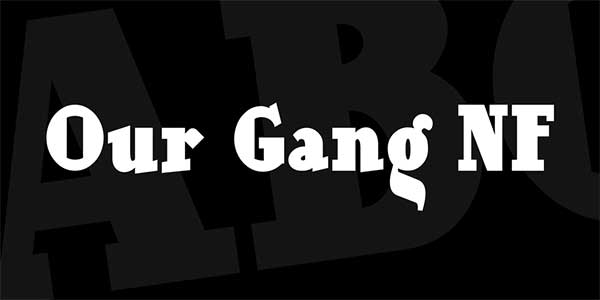 Our-Gang-NF-Font