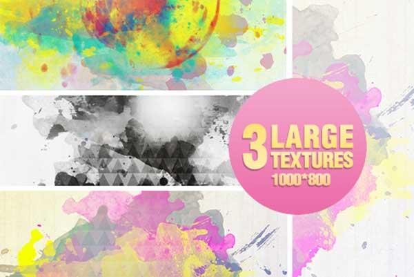 3-Watercolor-textures