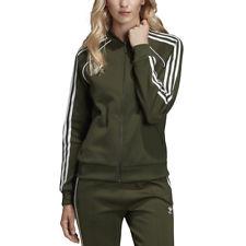 Adidas Originals Women's SST Track Top Jacket Night Cargo Green DH3166 NEW!