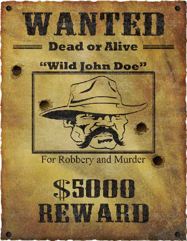 Wanted-Poster-Mock-Up-Template