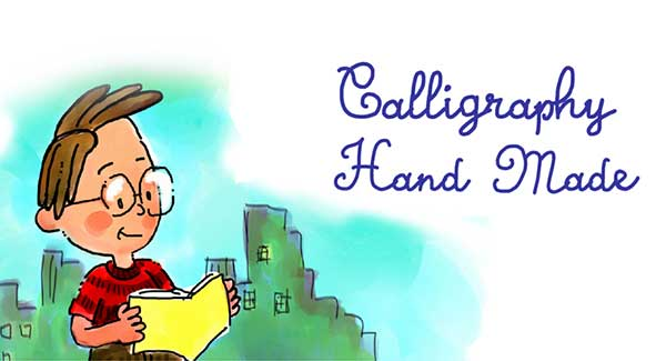 Calligraphy-Hand-Made-Font