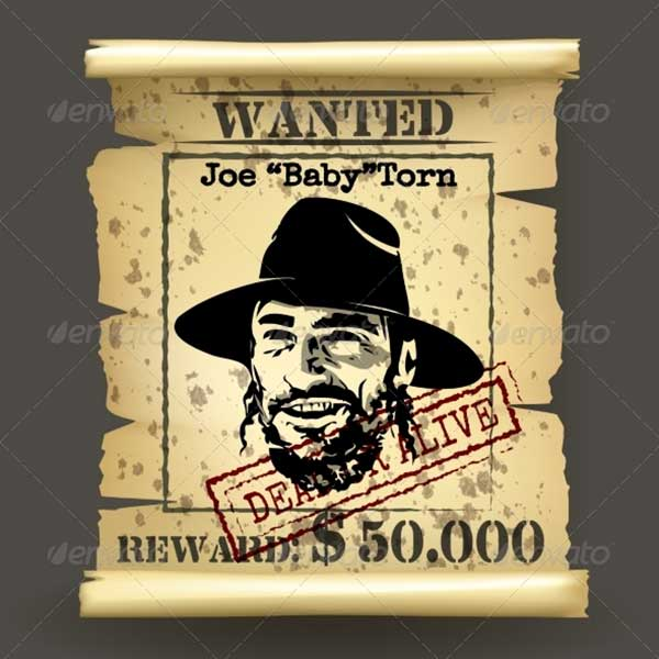 Wild-West-Style-Wanted-Poster