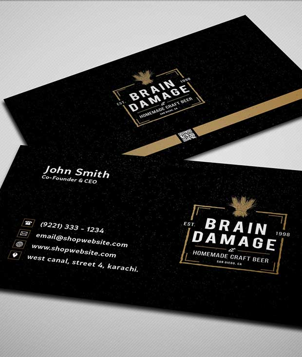free-black-business-card-psd-template
