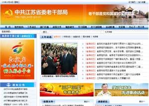 网站建设策划案例_江苏省委老干部局