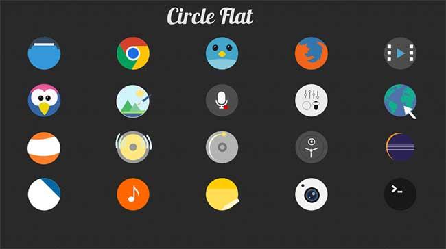 circle-flat-icons