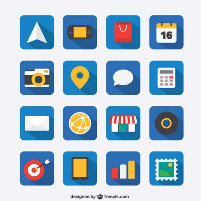 flat-icon-set-for-web-and-mobile-app