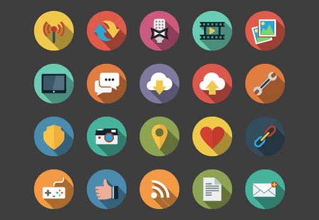 web-flat-icons-bundle
