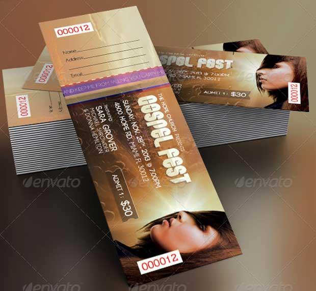 gospel-fest-concert-ticket-template