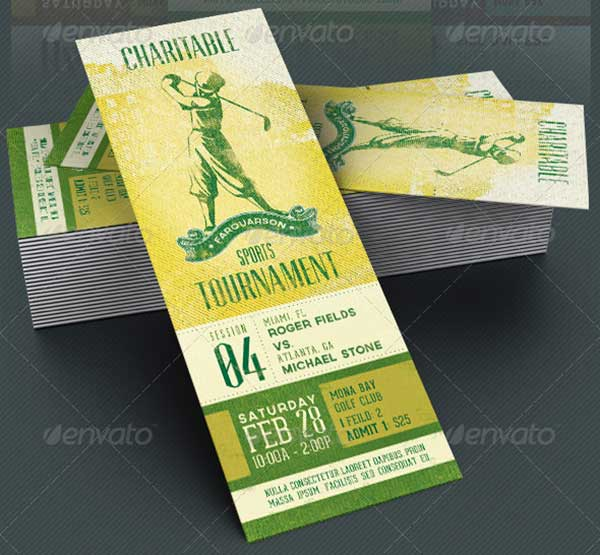 charitable-sports-event-ticket-template