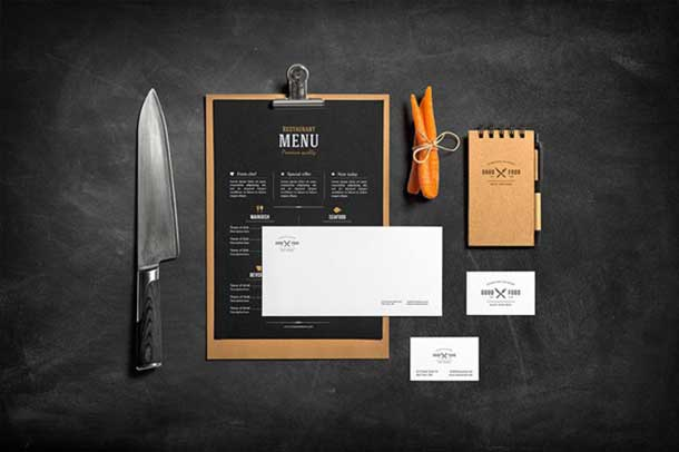 free-stationery-food-psd-mockup