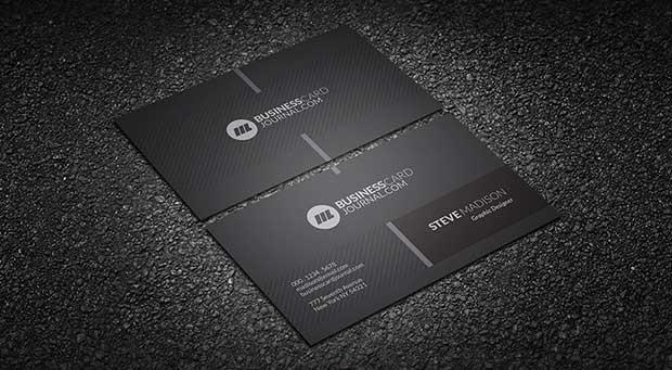 monochrome-minimalist-corporate-business-card-template