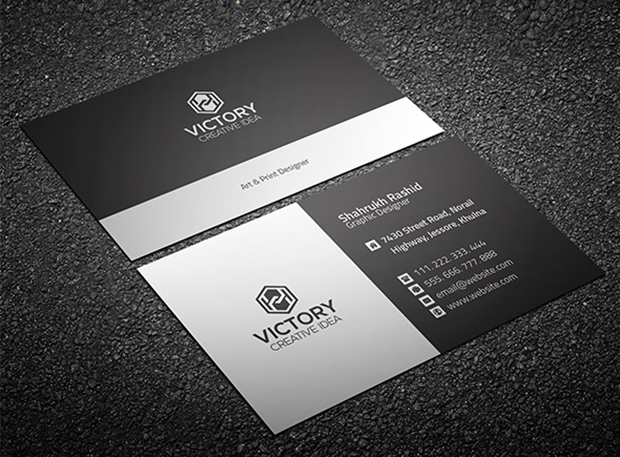 free-corporate-business-card-template