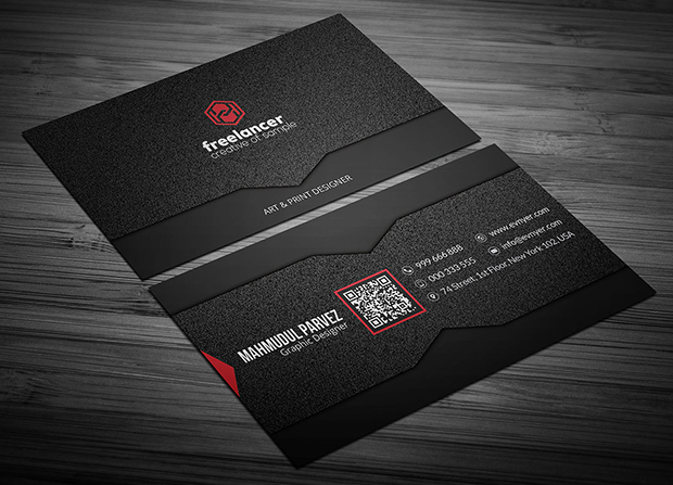 free-noise-corporate-business-card-template