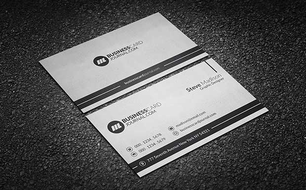 clean-minimal-paper-texture-business-card-template