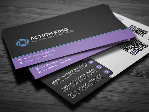 free-simple-corporat-business-card-template