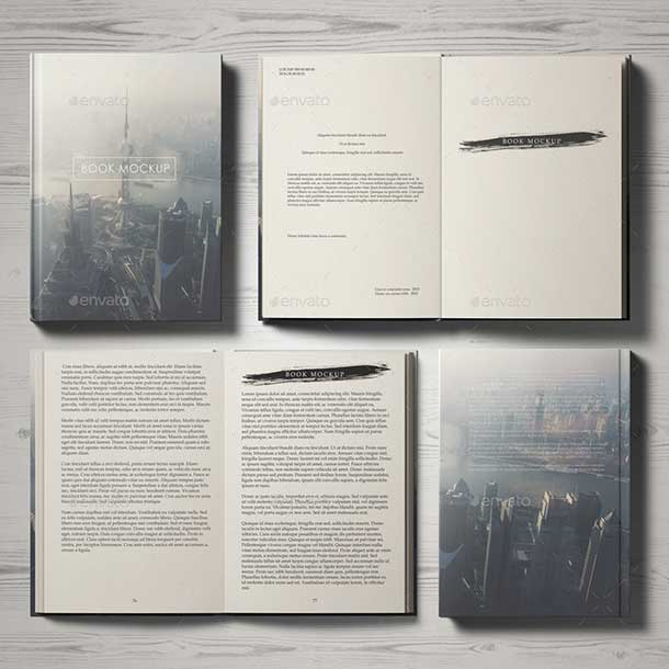 best-book-mockup-set