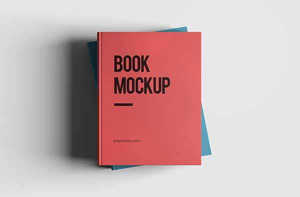 Free-Book-Mockup---Psd-Smart-Object