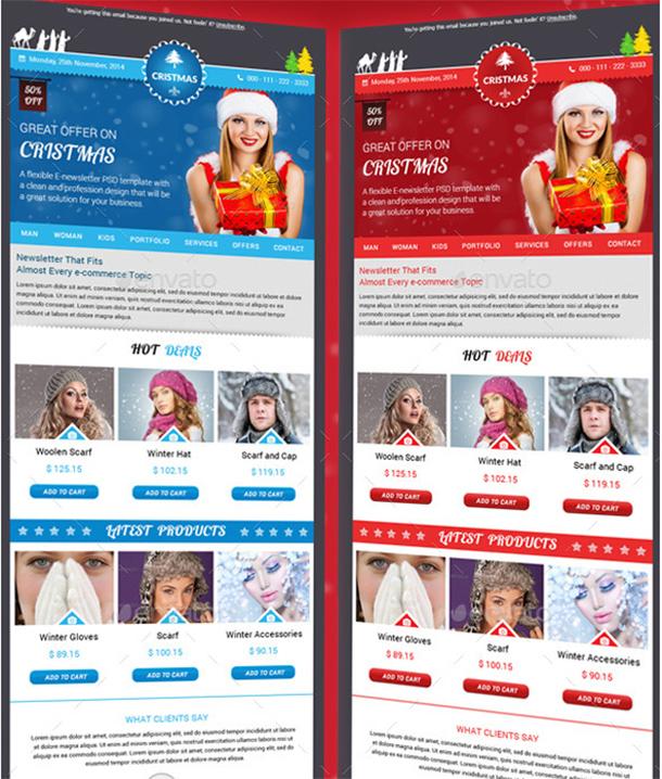 christmas-email-newsletter
