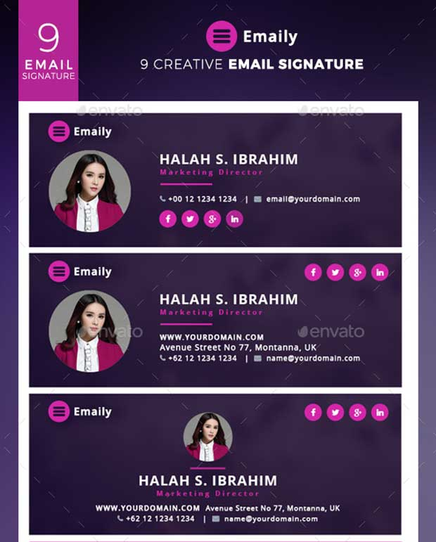 emaily-creative-email-signature