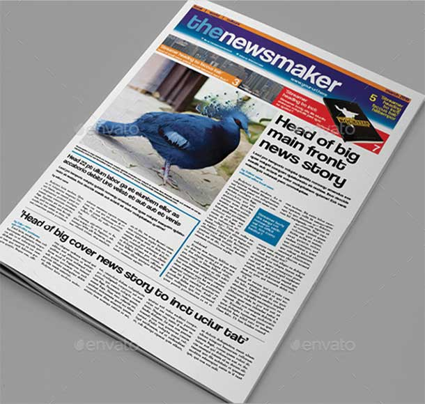 tabloid-newspaper-template